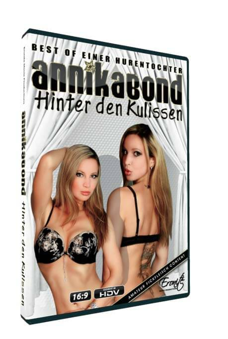 Annika Bond - Hinter den Kulissen • Amateurporno • Eronite DVD Shop