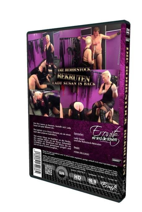 Die Rohrstockrekruten • Domina Lady Susan Berlin • Eronite DVD Shop