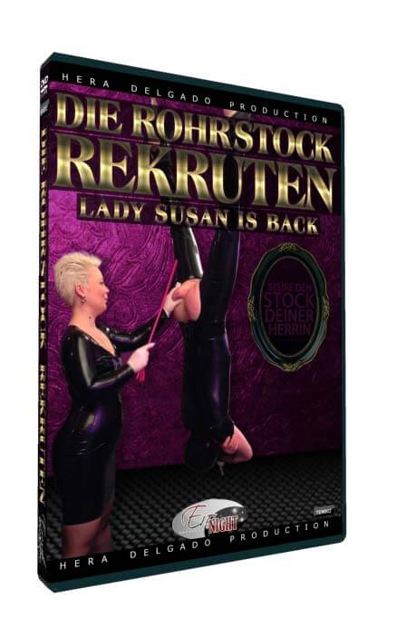 Die Rohrstockrekruten • Domina Lady Susan Berlin • Eronite DVD Shop