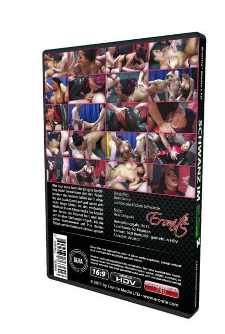Schwanz im Glück • Gangbang Porno • Eronite DVD Shop